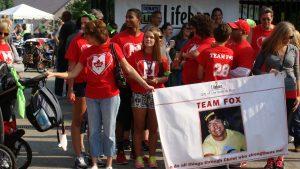 Team Fox honors Kevin Fox, organ donor hero.